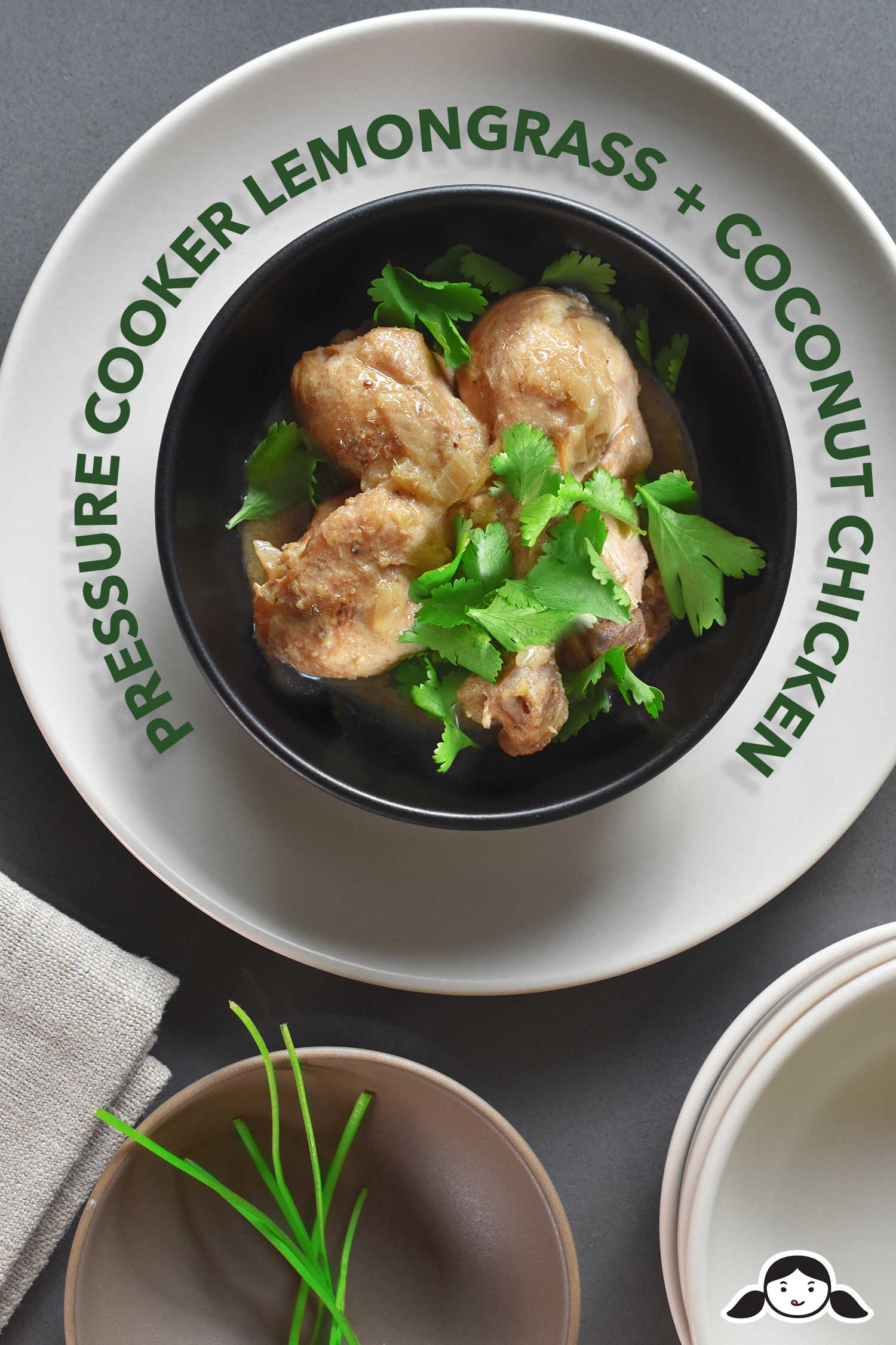 Pressure Cooker Lemongrass + Coconut Chicken by Michelle Tam http://nomnompaleo.com
