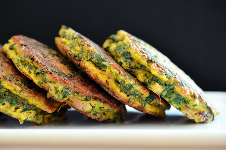Egg Foo Young-ish (Spinach, Egg, Ham & Coconut Pancakes) by Michelle ...