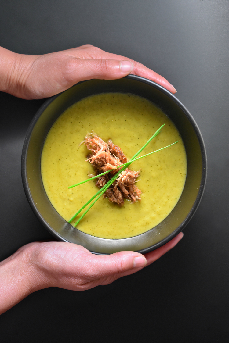 Instant Pot Curried Cream of Broccoli Soup by Michelle Tam http ...