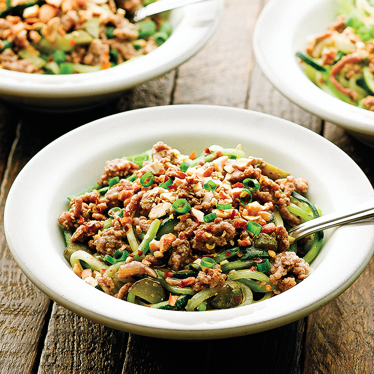 Dan Dan Noodles from Well Fed Weeknights by Michelle Tam http://nomnompaleo.com