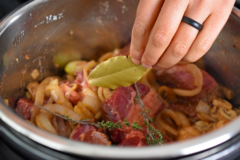 Pressure Cooker Beef Stew by Michelle Tam http://nomnompaleo.com