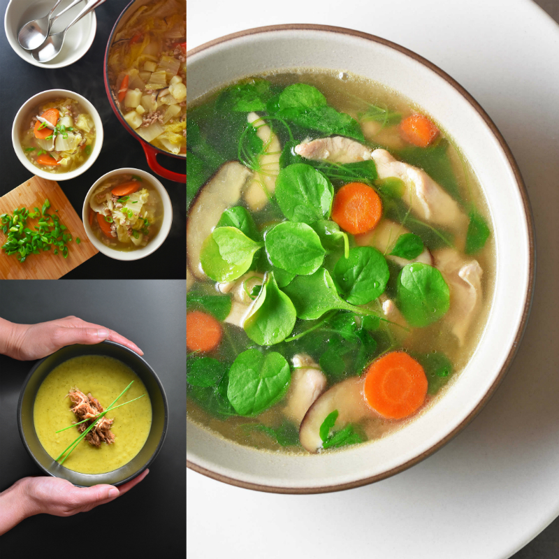 Whole30 Soups Roundup! by Michelle Tam http://nomnompaleo.com